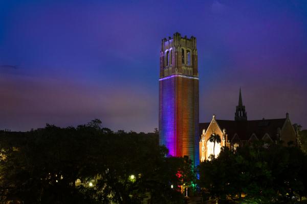 Century Tower Rainbow